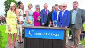 PICTURES: Newtowncashel School reunion celebration at Kilbeggan Races