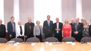 Bishop Francis Duffy among  delegation that met with An Taoiseach Leo Varadkar