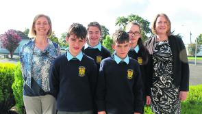 Granard's Cnoc Mhuire kicks off school year in style