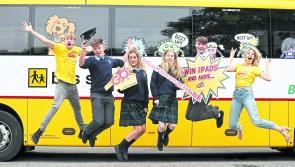 Bus Éireann launches competition for Longford Transition Year students
