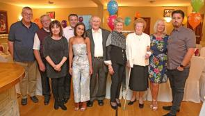 Longford Leader gallery: Paddy Gray celebrates 80th birthday at Aughnacliffe's Glenview Lounge