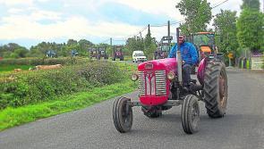 Darren McGlynn Memorial Tractor Run in Longford