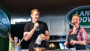 National Ploughing Championships: Jamie Heaslip and Rachel Allen take the stage for Jaguar Land Rover