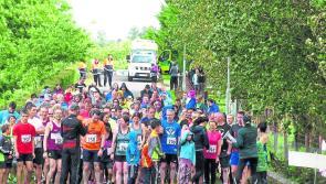 Longford public praised as 'Leg it for LARCC' raises €4,000