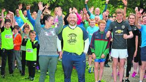 Pictures: Celebrity Operation Transformation star Gary O'Hanlon makes his Longford parkrun debut
