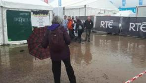 'Absolutely no question' of cancelling final day of #Ploughing17 despite heavy downpours