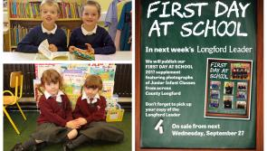 Longford Leader 'First Day at School' souvenir photograph supplement