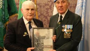 Longford Siege of Jadotville veteran Michael Tighe presented with special award