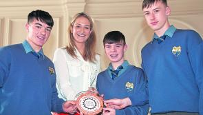 St Mel's College, Longford receives Cycle Against Suicide Ambassador School award