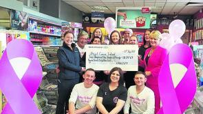 Edgeworthstown store raises €10k for charity