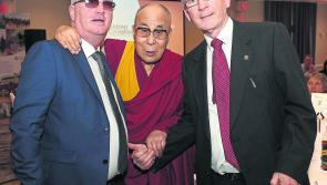 Longford man honoured by Dalai Lama in Derry