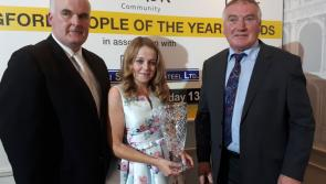 Photo Gallery: Longford Person of the Year Jillian McNulty dedicates award to all Cystic Fibrosis sufferers who lost their fight for life