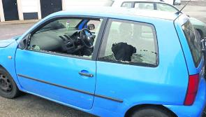 Vandals destroy car in Longford town in broad daylight
