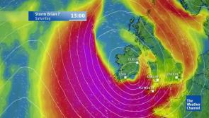 LIVE: Watch Storm Brian as it approaches Longford
