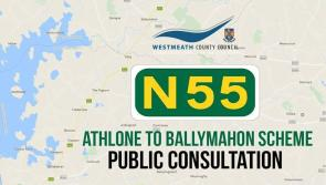 Public consultation on proposed new N55 route linking Ballymahon and Athlone