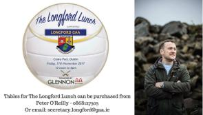 Top comedian PJ Gallagher to entertain guests at 'The Longford Lunch' in Croke Park