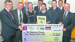 Longford farmers in Grassland final