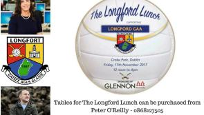 RTE's Sinead Hussey will be MC for inaugural 'The Longford Lunch' at Croke Park