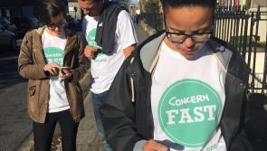 Longford people asked to sign-up for Concern Fast and kick-a-habit for 24-hours