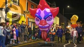 Longford Leader Photo Gallery:  Spectacular and colourful Dead of Night Festival parade in Longford town
