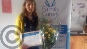 Drumkeerin's Mary receives Leitrim Carer Award