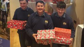 St Mel's College students in Longford support Christmas Shoebox appeal