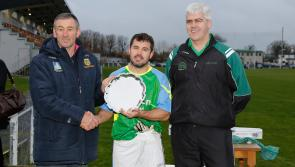 Leitrim/Longford  triumph in the All-Ireland Masters Football Plate Final
