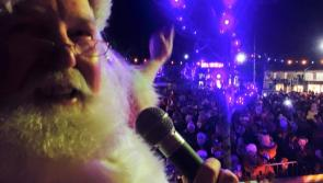 Lots of festive cheer as Santa Claus officially switches on Longford Christmas lights