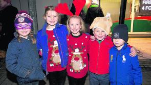 Switching on the Christmas spirit in Edgeworthstown