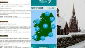 Weather Alert: Met Éireann issues snow and ice warning for Longford as temperatures could plummet to -8