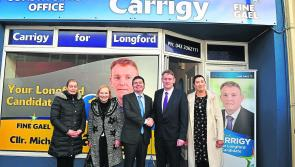Donohoe says investment in Longford is just the start