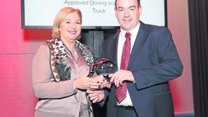Prestigious RSA award for Longford Hynesquinn Driving School  instructor John Kearney