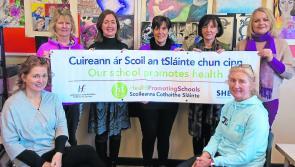 Positive Health Week at Longford town's Meán Scoil Mhuire