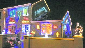Local chimney cleaner prepares for Santa  with spectacular lights display at his Ballymahon home