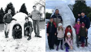 Longford snowfall leads to recreation of history in Ballinalee