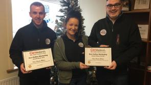 Top online marketing award for Peter Hanley Motors, Ballymahon