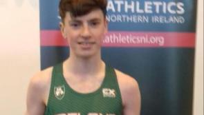 Another superb performance as Cian McPhillips sets new Irish Youth Outdoor 3,000m record