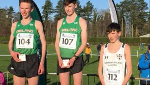 Watch: Longford athlete Cian McPhillips capturing success at the Celtic Cross Country International Championships in Belfast
