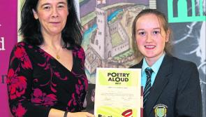 Longford student in final of Poetry Aloud competition