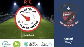 Kenagh GAA 'Lights Up' for Operation Transformation walks