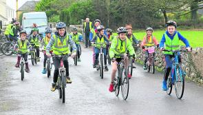 Pictures: Charity cycle & headshave in Newtowncashel