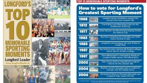Time is running out to vote for Longford's Greatest Sporting Moment!