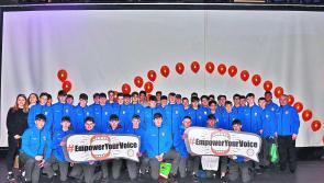 St Mel's TY students visit Student Leaders' Congress