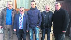'No to Derryadd Wind Farm' group meets Boxer Moran