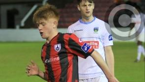 Promising Longford Town player Aodh Dervin looking forward to the new soccer season