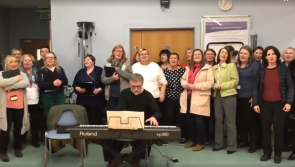 WATCH: Tullamore Hospital choir sing their support for Lollipop Day