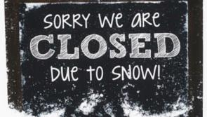 A number of Longford schools closed due to snowfall and dangerous road conditions
