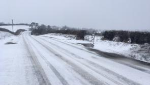 BREAKING:  Status Red ice and snow warning for Co Longford put in place at 11pm