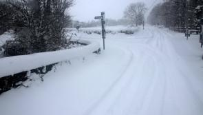 All national roads in Longford are open but a large number of local roads remain blocked