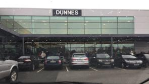 Crowds flock to Dunnes Stores in Longford as shop reopens after Storm Emma